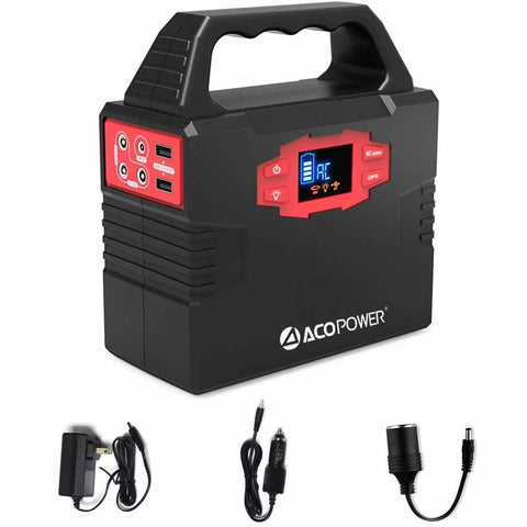 AcoPower | 150Wh Portable Solar Generator