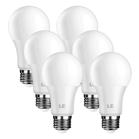 8.5W Dimmable LED Light Bulbs 6 Pack - Wi-Buy