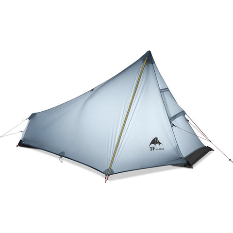 3F UL GEAR Oudoor Ultralight Camping Tent 1 Person Rodless Tent - Wi-Buy