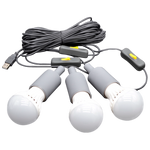 Lion Energy: 3 LED Light Bulb String
