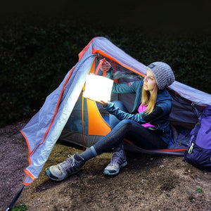 PackLite Hero Portable Solar Light 2-in-1 Supercharger