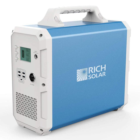 Rich Solar | X1500 LITHIUM PORTABLE POWER STATION - Wi-Buy