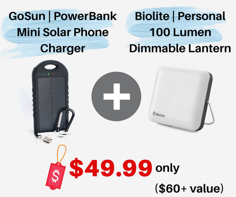 GoSun | PowerBank + Camping Light Bundle - Wi-Buy