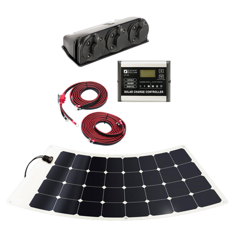 Zamp Solar | 100-Watt Flexi Roof Mount Kit - Wi-Buy