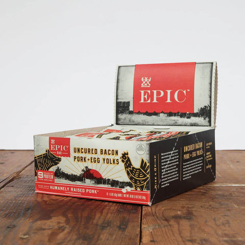 Epic Provisions | Bacon and Egg Yolk Bar - Wi-Buy