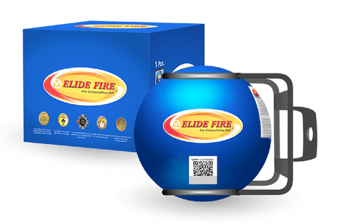 Elide | Mini Fire Extinguishing Ball 4″ – Marine - Wi-Buy