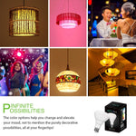 Lighting Ever | 10W LED Multicolor Bluetooth Dimmable LED Bulbs - Wi-Buy
