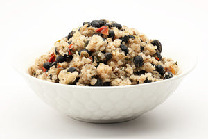 Coconut Rice and Cuban Black Beans