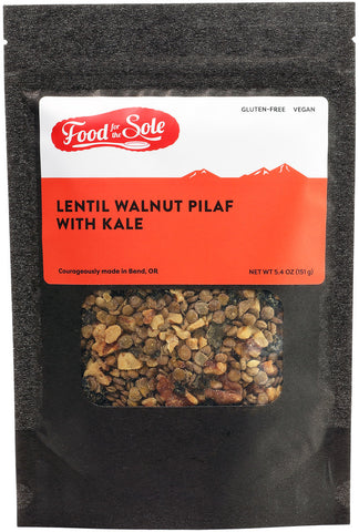 Food for the Sole | Lentil Walnut Pilaf with Kale - Wi-Buy
