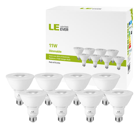 11W Dimmable LED Spotlight Bulb 8 Pack - Wi-Buy