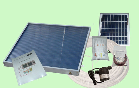 RV Solar Water Heating Kit (1 panel)- Direct Circulation - Wi-Buy