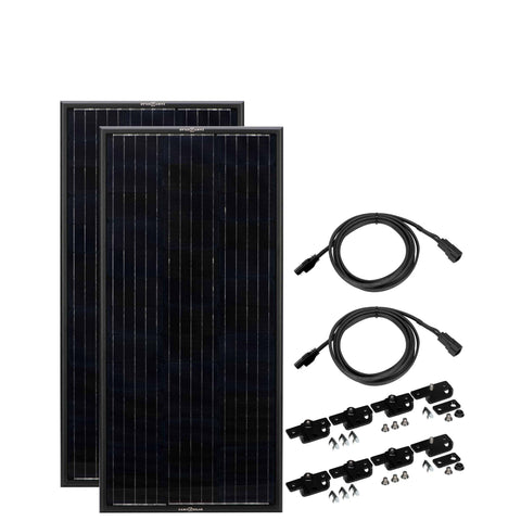 OBSIDIAN 90 WATT SOLAR PANEL KIT (2X45) - Wi-Buy