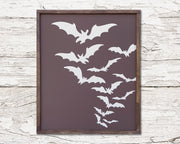 Bats <br> ( CANVAS FLOAT )