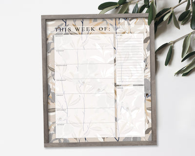 Dovetail (Dry Erase Board) - Weekly Calendar