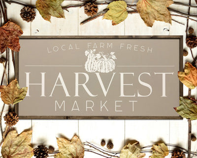 Local farm fresh harvest market