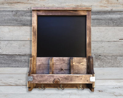 Chalkboard / Key Ring Holder / Mail Sorter