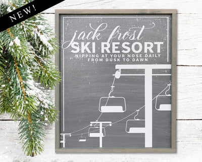 Jack Frost Ski Resort<br> ( COLORS CUSTOMIZABLE )