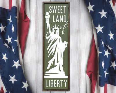 Sweet land of liberty (Statue of liberty)