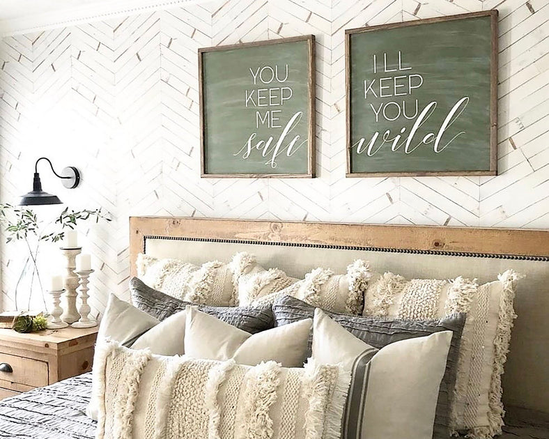 Shop You keep me safe I'll keep you wild (set of 2) from Oh Sweet Skye on Openhaus
