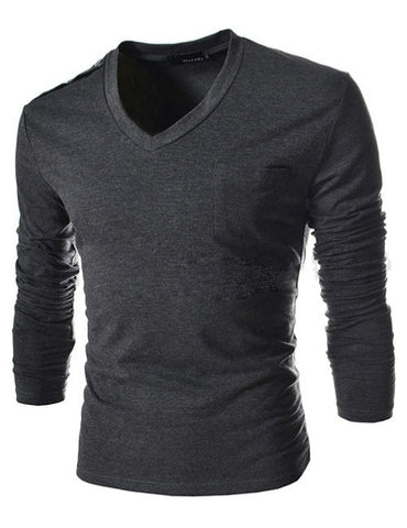 Mens Fit Slim Pocket Shirt - Tangled Teez