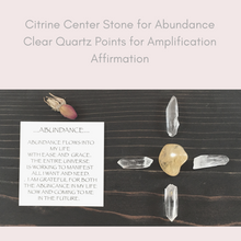 Abundance Mini Crystal Grid