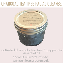 Charcoal + Tea Tree Mint Facial Cleanse