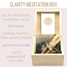Clarity Meditation Box