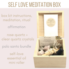 Self Love Meditation Box