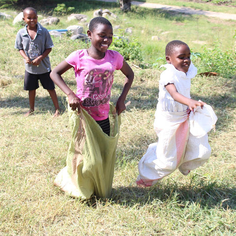 playpack africa sack race