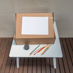 playpack box easel