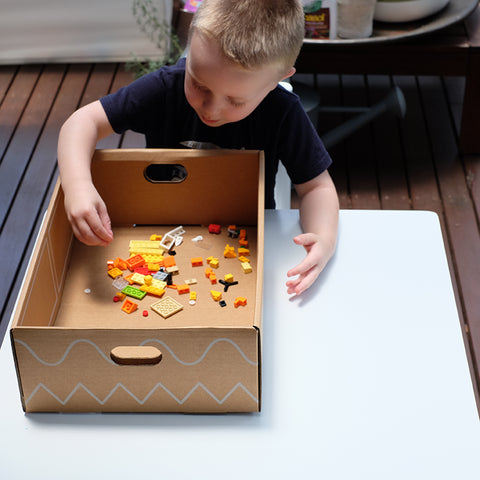 playpack lego sensory play