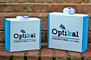 Introducing Optikal...Hassle-Free Contact Care Delivered to Your Doorstep