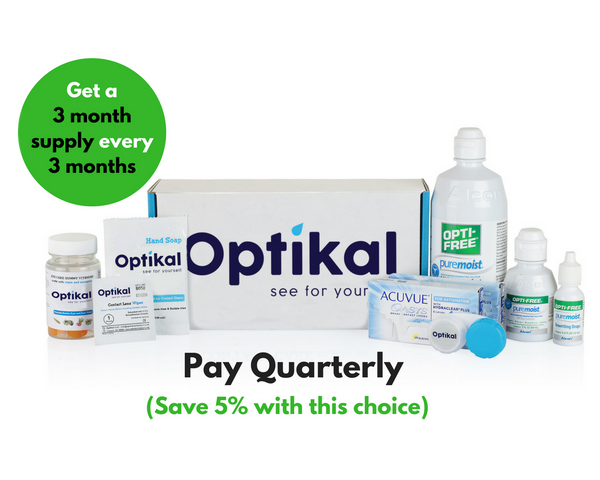 Optikal Quarterly Payment