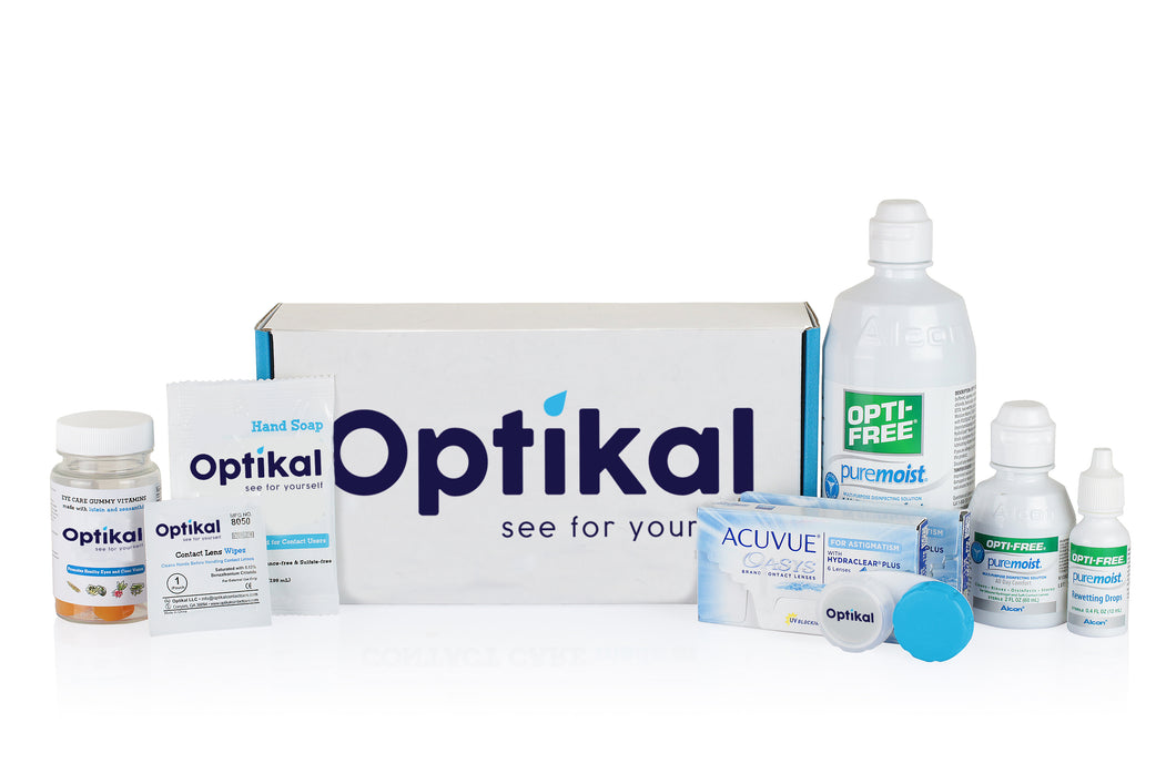 Optikal Vision Plan - Monthly Contacts (Astigmatism, Multi-Focal or XR)