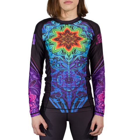 Women's Mandala Rash Guard (10th Planet El Paso)