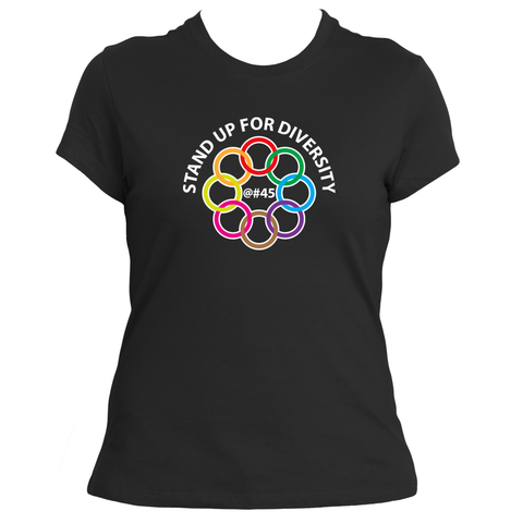 Stand Up for Diversity Female Tee