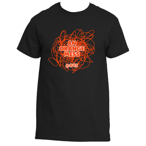An Orange Mess Male Tee
