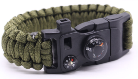 9 in 1 High Quality Paracord Survival Gear Band