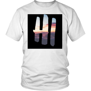 Hawaiian Sunset Men's Tee - T-shirt - teelaunch -  Maoli Life -  Maoli Life - Hawaii Jewelry - Best of Hawaii - Island Clothing - Hawaii Clothing - Hawaiian Clothing - Maoli