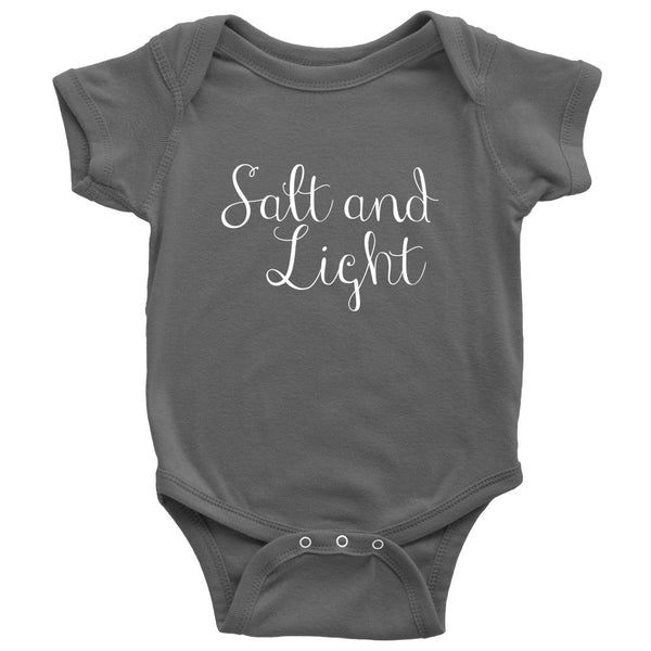 Salt And Light Baby Onesie - T-shirt - teelaunch -  Maoli Life -  Maoli Life - Hawaii Jewelry - Best of Hawaii - Island Clothing - Hawaii Clothing - Hawaiian Clothing - Maoli