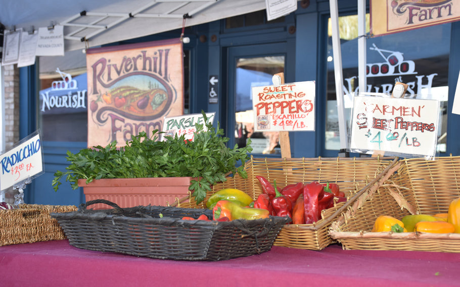 Nevada City Lifestyle: Our Street Market