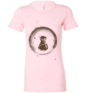 Chemex Coffee Ring - Ladies T-Shirt