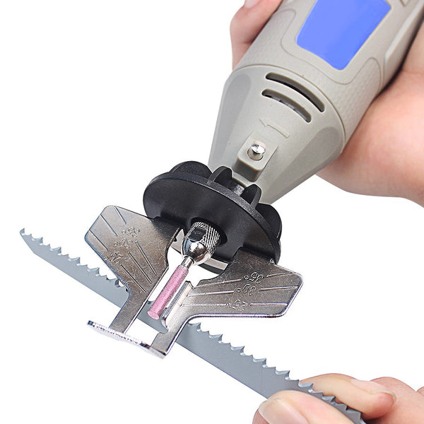 Chainsaw sharpener pillow bread inc the build in guide provides optimal sharpening angle too it easily sharpen dull slow cutting chain saw blades keyboard keysfo Gallery