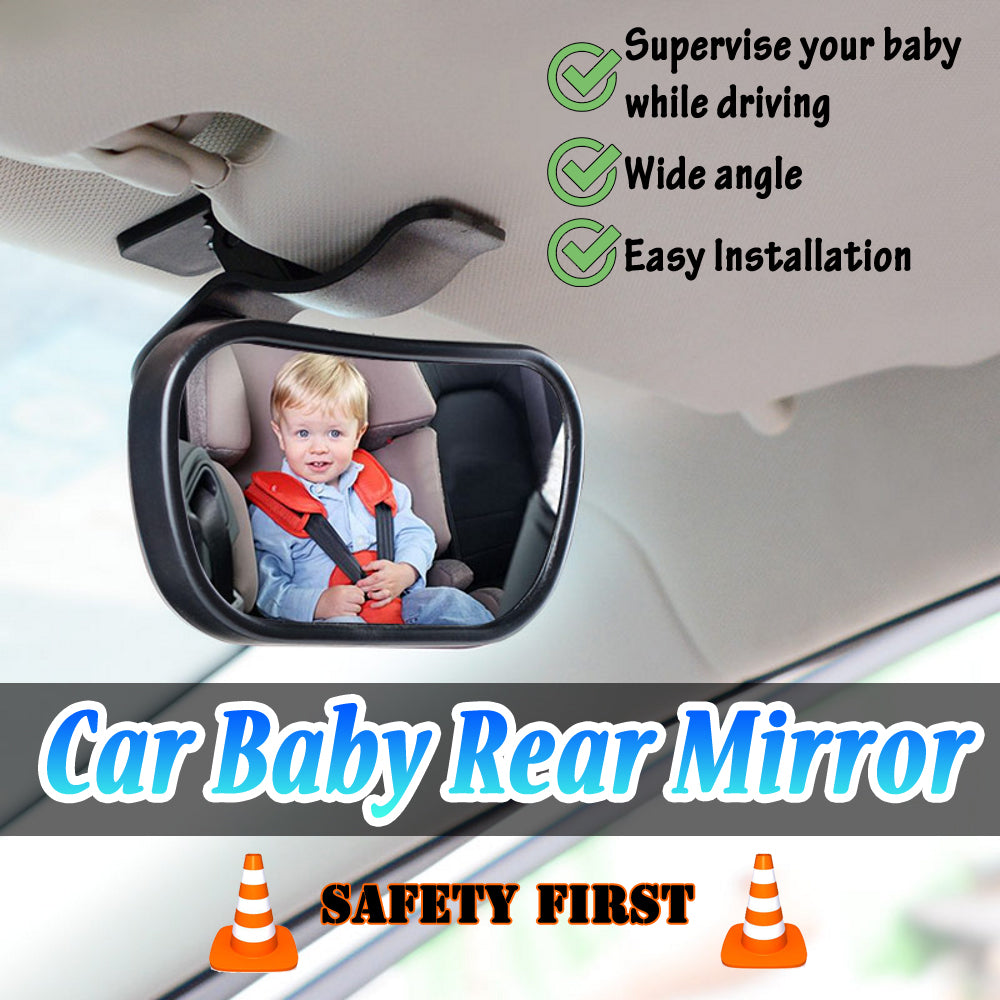 Baby Safety Interior Rear View Mirror Auto Adjustable Car Driving Child Seat New
