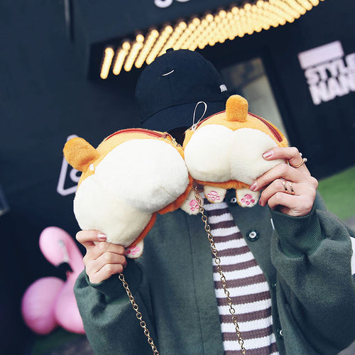 Corgi Butt Handbag and Purse