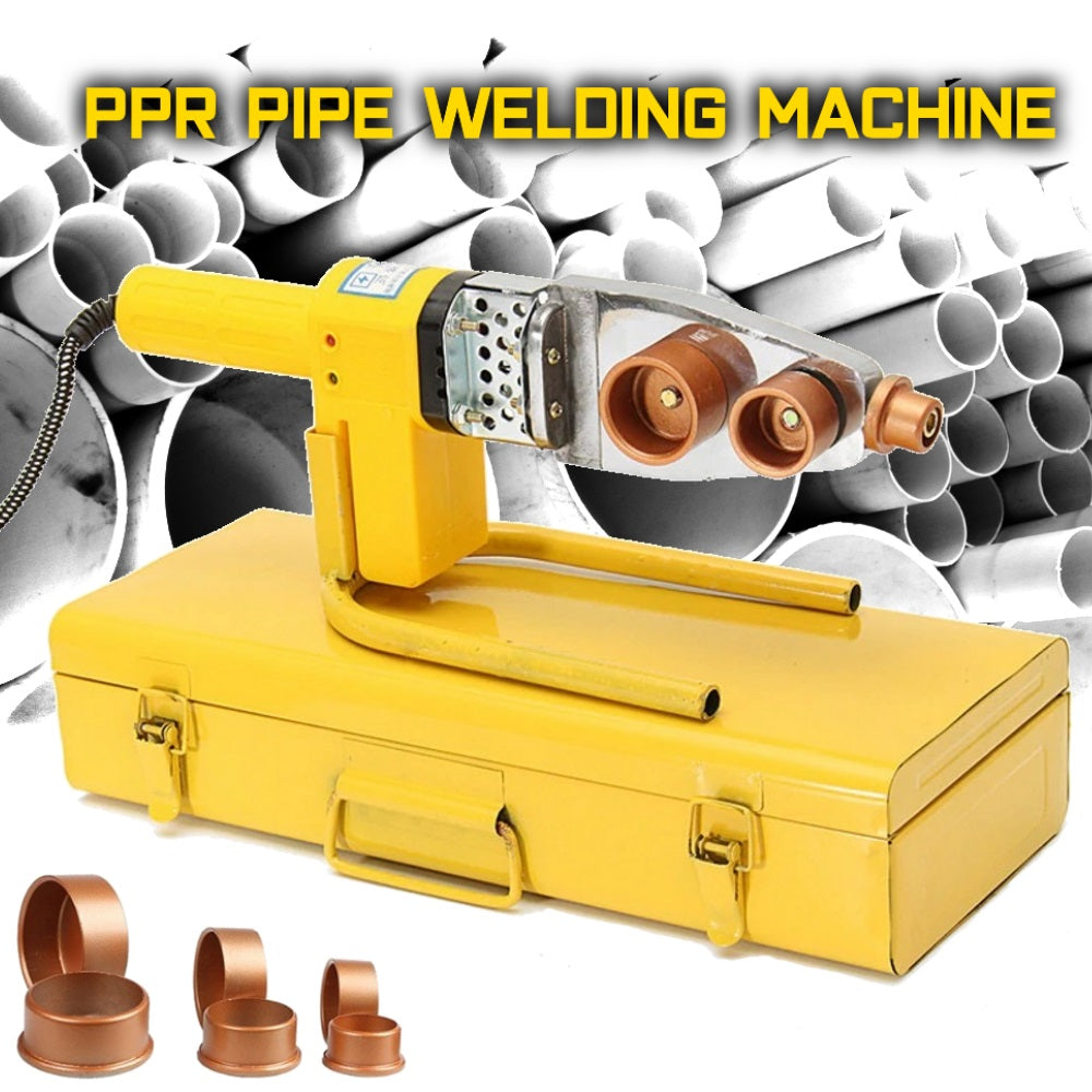 How to choose a device for welding plastic pipes Welding equipment for plastic pipes