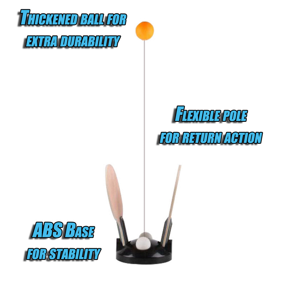 Image result for portable  pingpong TRAINER