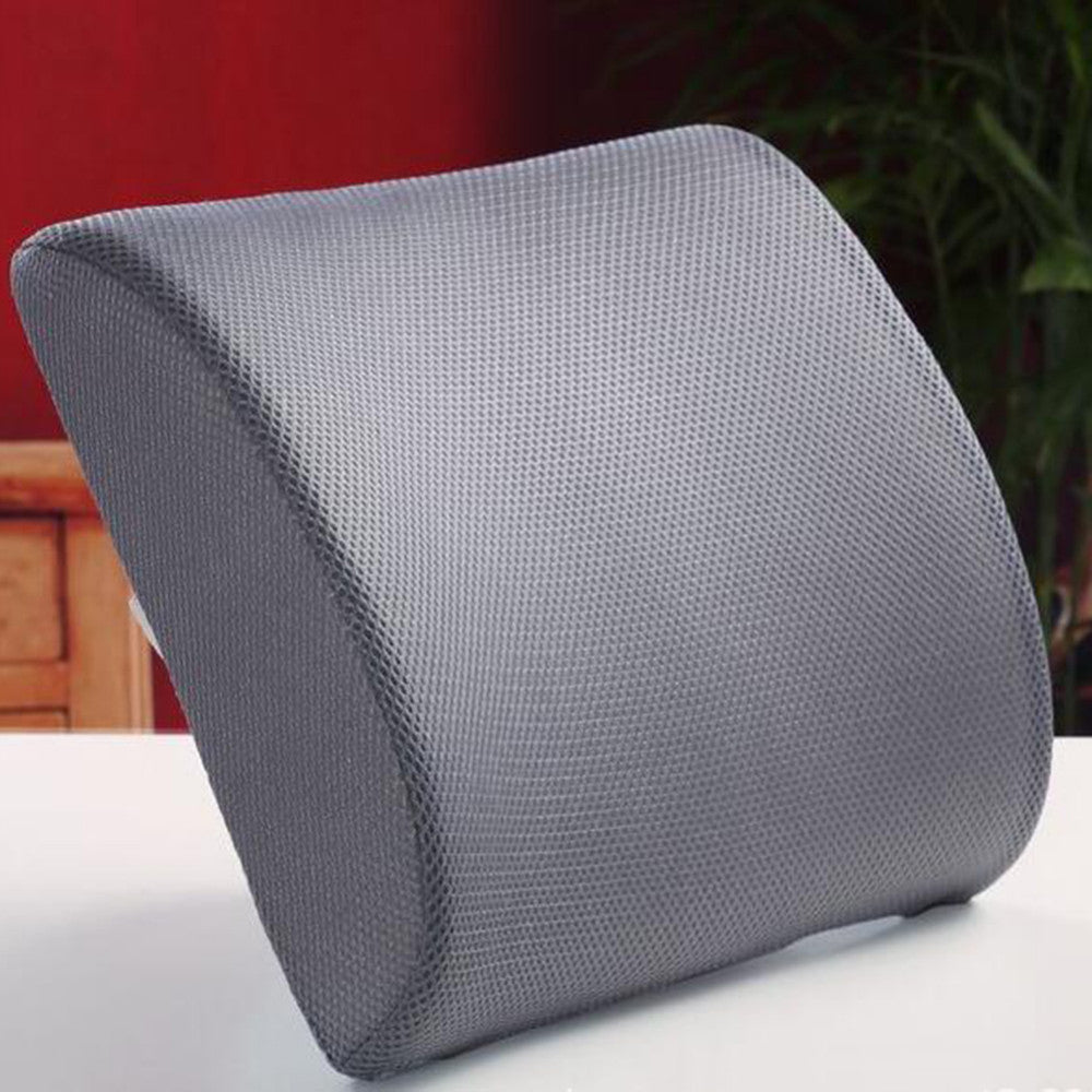 Memory Foam Lumbar Support Pillow Bread Inc