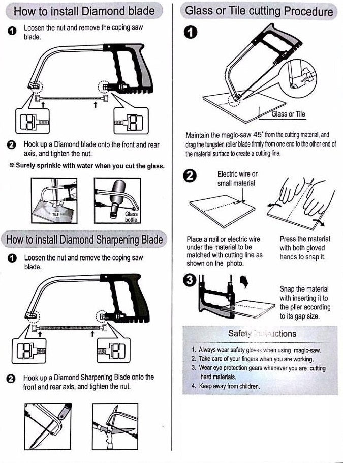 How to install a blade on a coping saw gallery wiring table and how to install a blade on a coping saw gallery wiring table and how to install keyboard keysfo Image collections