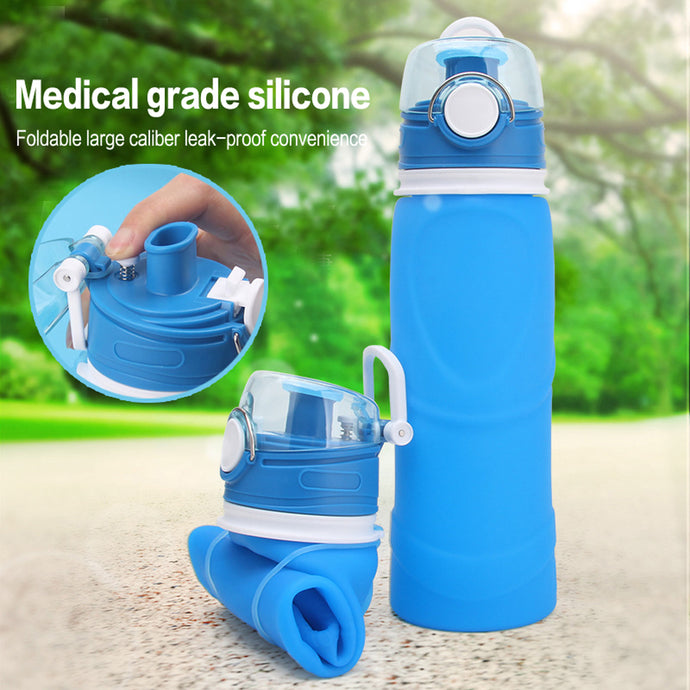 750ML Outdoor foldable bottle